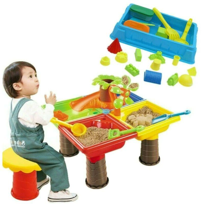 sandbox sand and water table beach toys