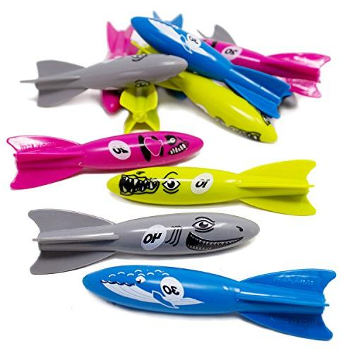 sinking dive torpedo pool toys
