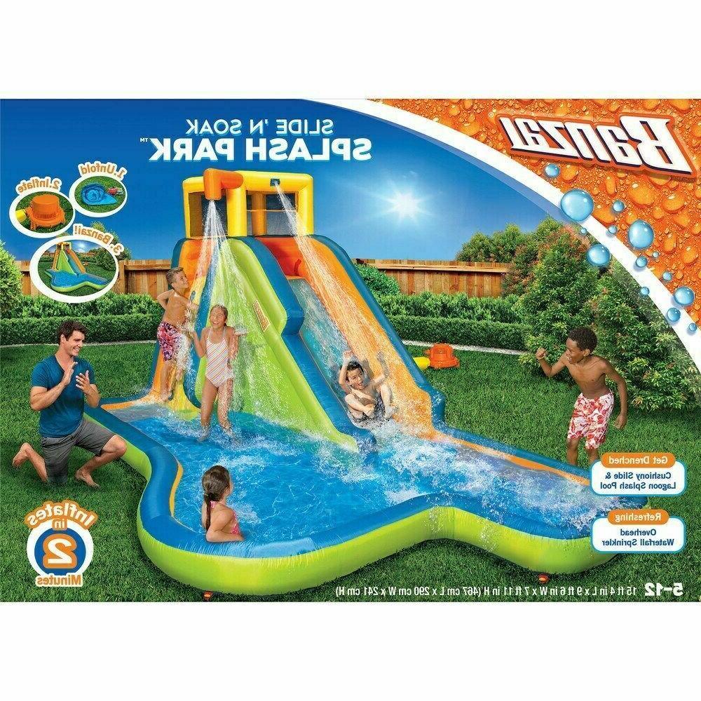 Banzai Slide n Splash Park 90321 Blower! 4 Kids!