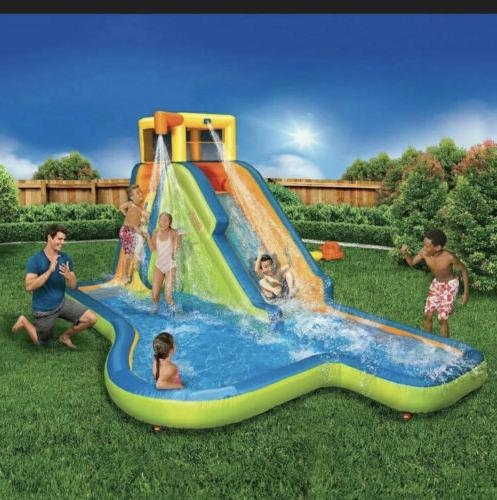 slide n soak splash park w blowerships