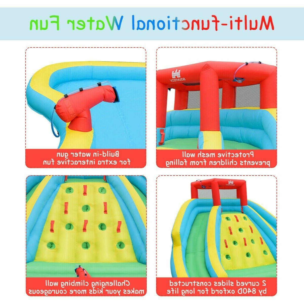 Inflatable Adventure Water Slide Bouncer With