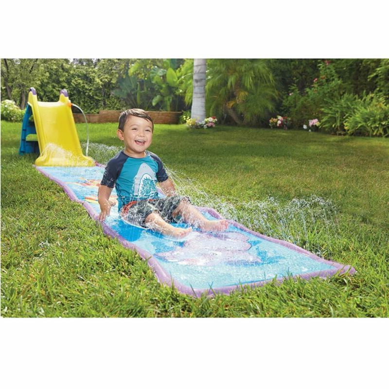Slide With Wet Dry Vinyl Water Kids Toddler