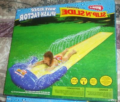slip n slide splash factor