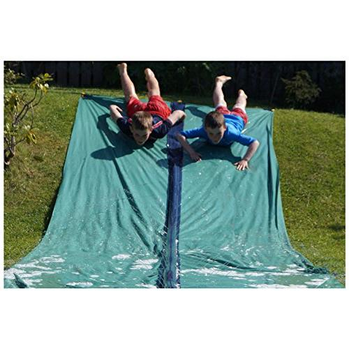 TEAM Slip Slide Racer and Inflatable Crash pad