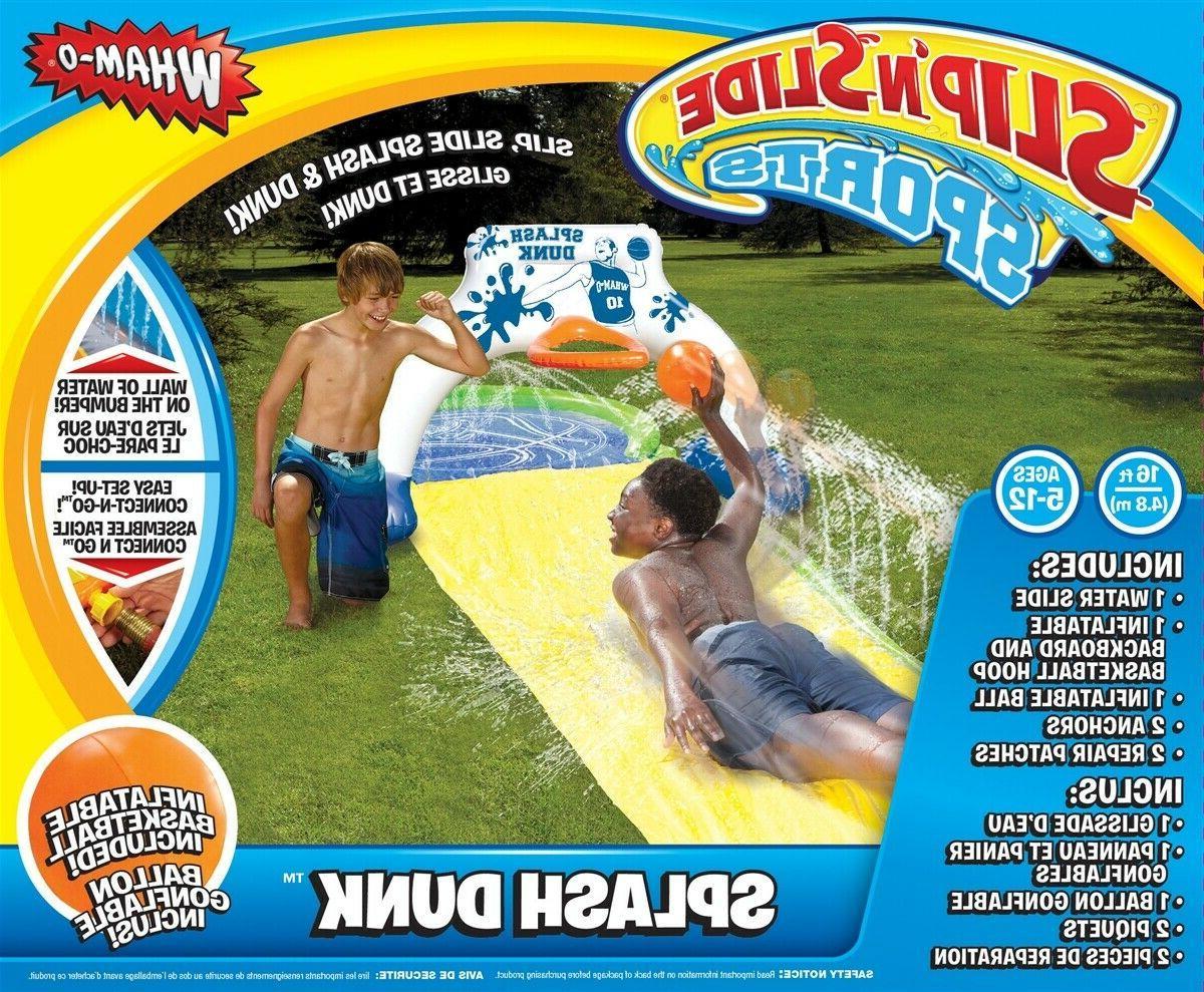 slip slide splash dunk