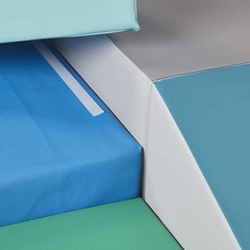 ECR4Kids SoftZone Tiny Foam Corner Indoor Play Structure for Kids - Set,