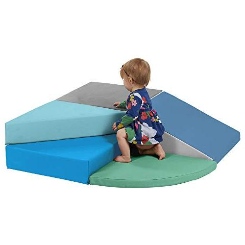 ECR4Kids Foam Corner Indoor for Toddlers - Set, Contemporary