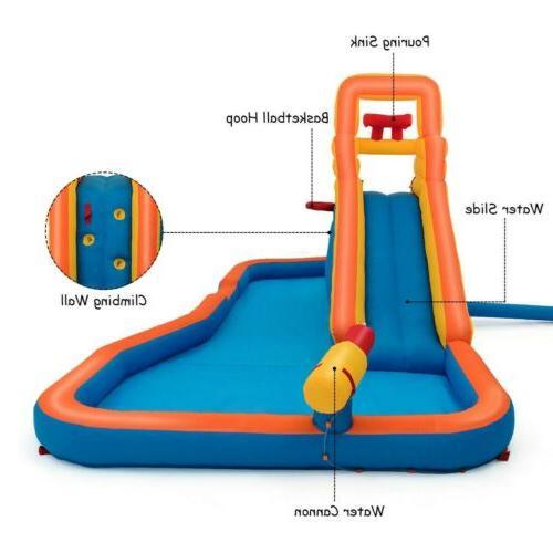 Splash Inflatable with Hoop Slide US