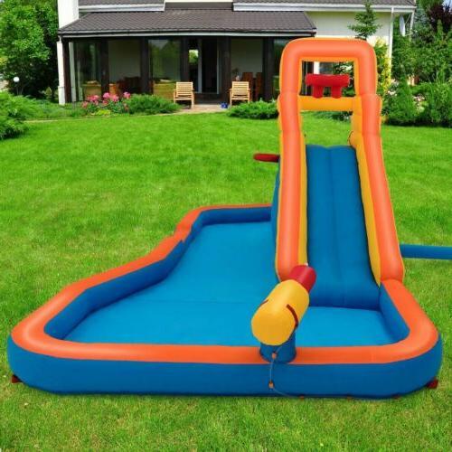 Splash with Ball Hoop Water Slide US