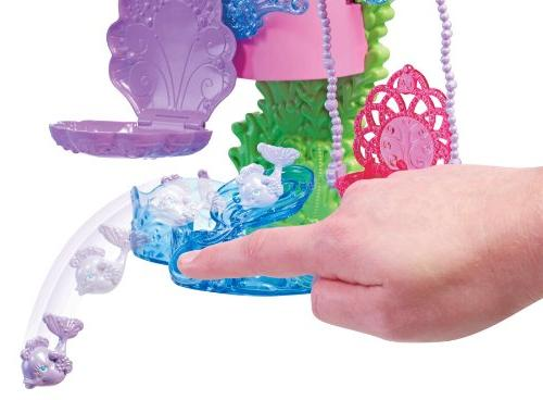 Barbie and Slide Bath Playset