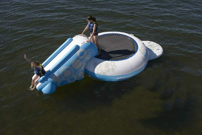 RAVE Water NIB White Blue Lake