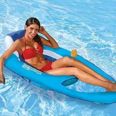 SwimWays Spring Float Recliner - Swim Pool or Light