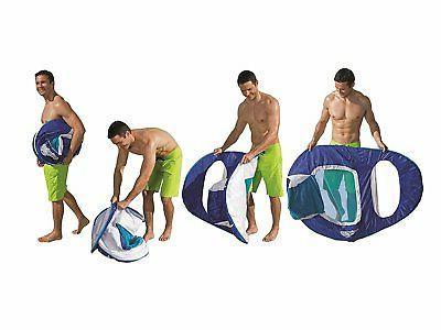 SwimWays - Swim Lounger Pool or Light Blue/Dark