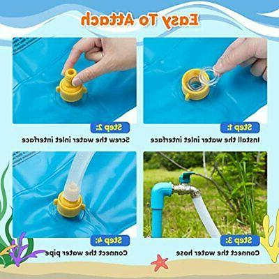 Sprinkler &amp Mat Kids, Pad Wading And Learning, A