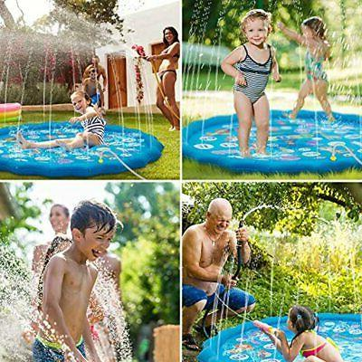 Sprinkler &amp Play Mat And Learning, 60&quot A