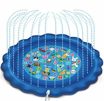 sprinkler and splash play mat for learning
