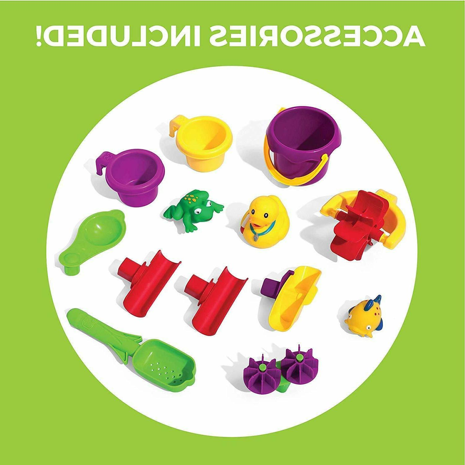 Step2 Rain Showers Pond Kids Water Play with 13-Pc