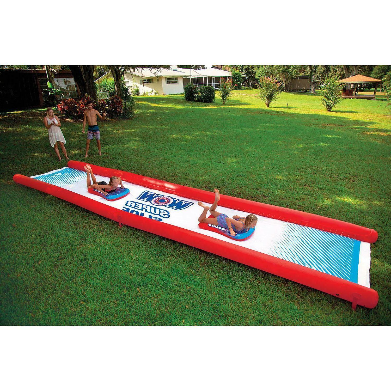 Wow World of Super Slide, 25' 6' Water