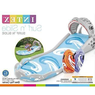 Intex Surf 'N Inflatable Water Slide w/ Surf