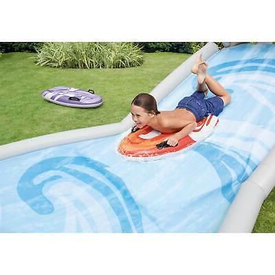 Intex Slide Inflatable Backyard Water Slide 2 Surf