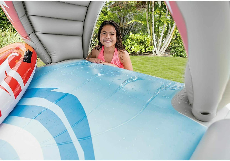 Intex Surf Slide Inflatable Play Center Water Splash Surf Riders