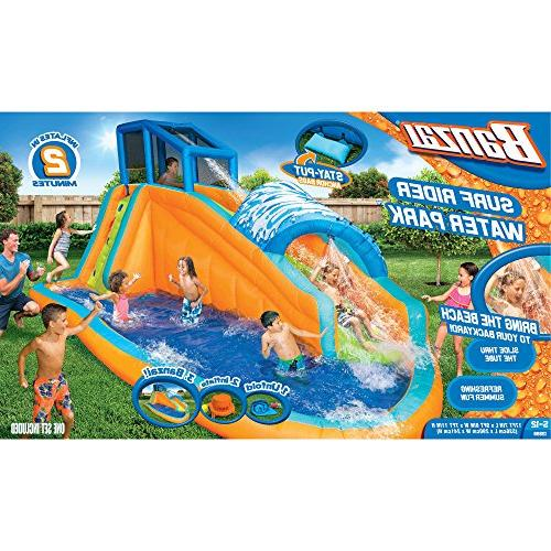 Banzai Surf Inflatable Water Park