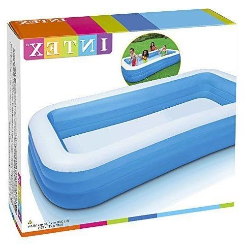 "Intex Inflatable Pool, 120"" 72"" for Ages 6+"