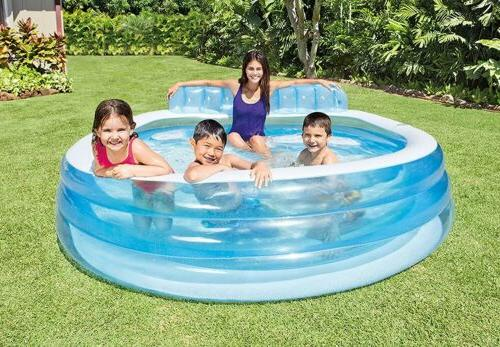 swim center inflatable family lounge pool 90
