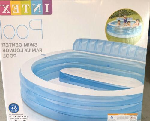 """Intex Center Family Lounge Water 90"""" x 86"""" 31"""""""