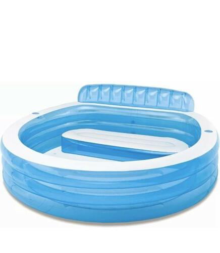 swim center inflatable family lounge pool water