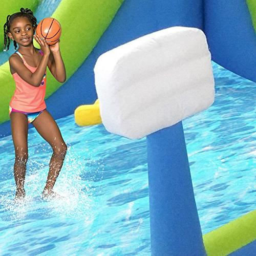 MAGIC Time Tornado Inflatable Slide and