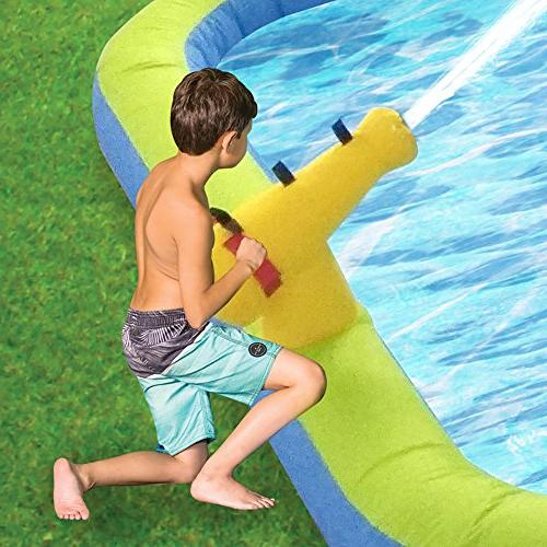 MAGIC Magic Tornado Inflatable Slide Splash Pool