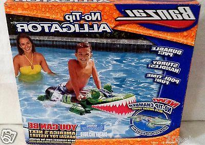 Banazi No Tip Alligator Inflatable Pool Toy