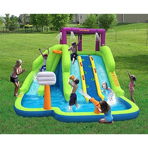 Kahuna Blast Outdoor Inflatable Pool Backyard