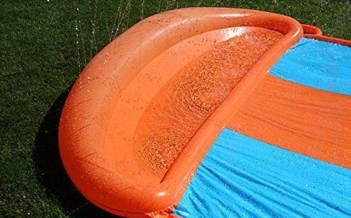 eXXtra Inflatable Slide Big Splash Kids Backyard +