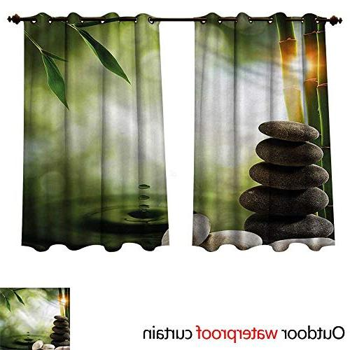 tropical curtain