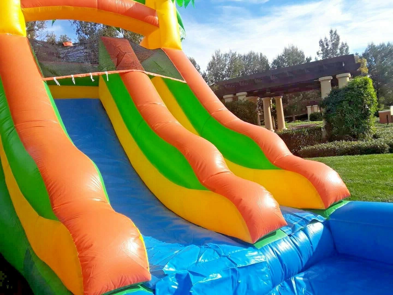 Tropical Inflatable Slide 12 Feet 100% PVC HP