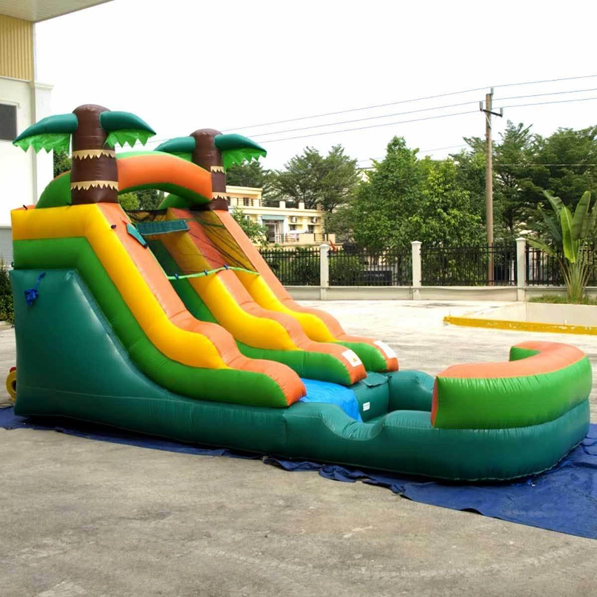 Inflatable Wet Tropical Water Pool Blower