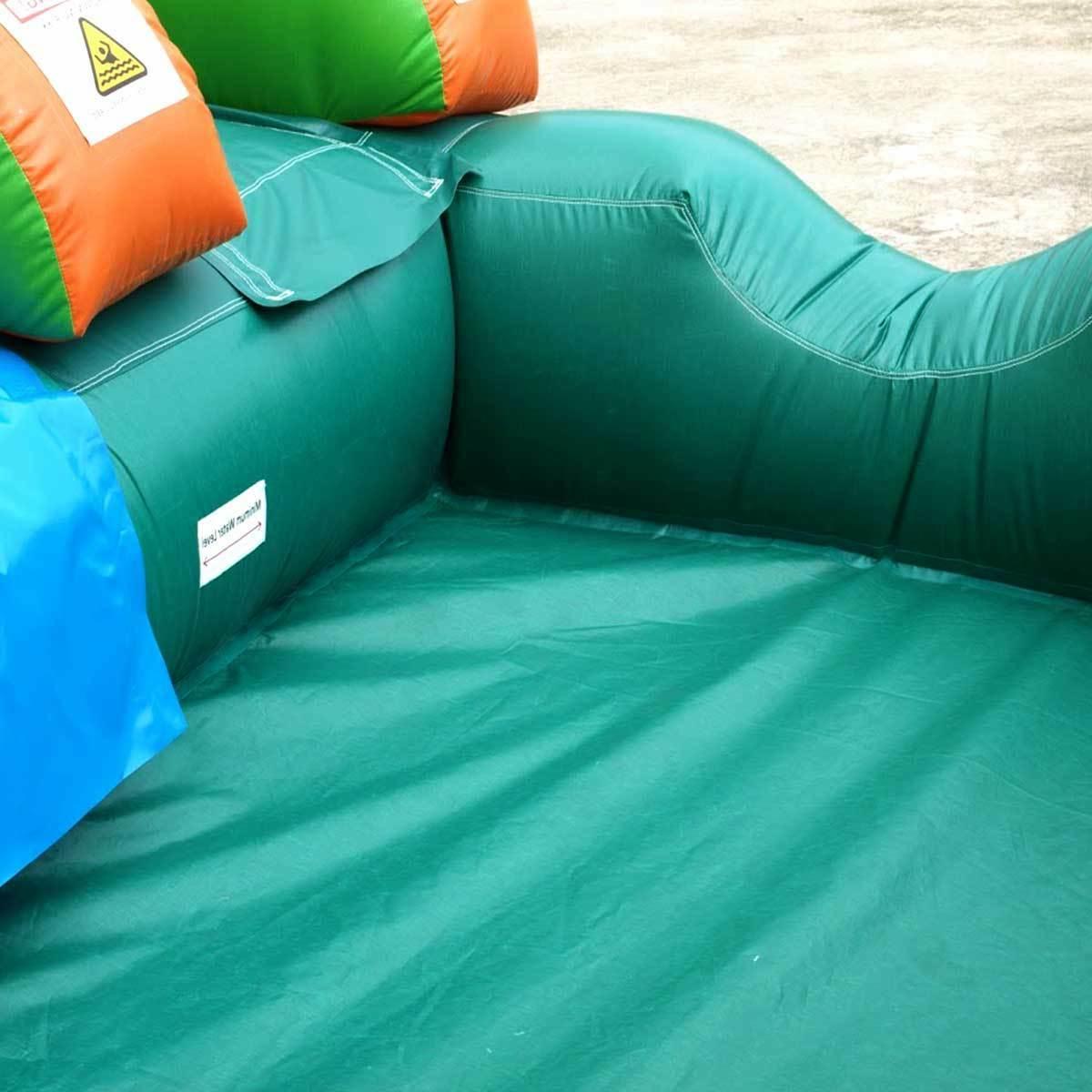 Inflatable Tropical Island Water Slide Pool Blower