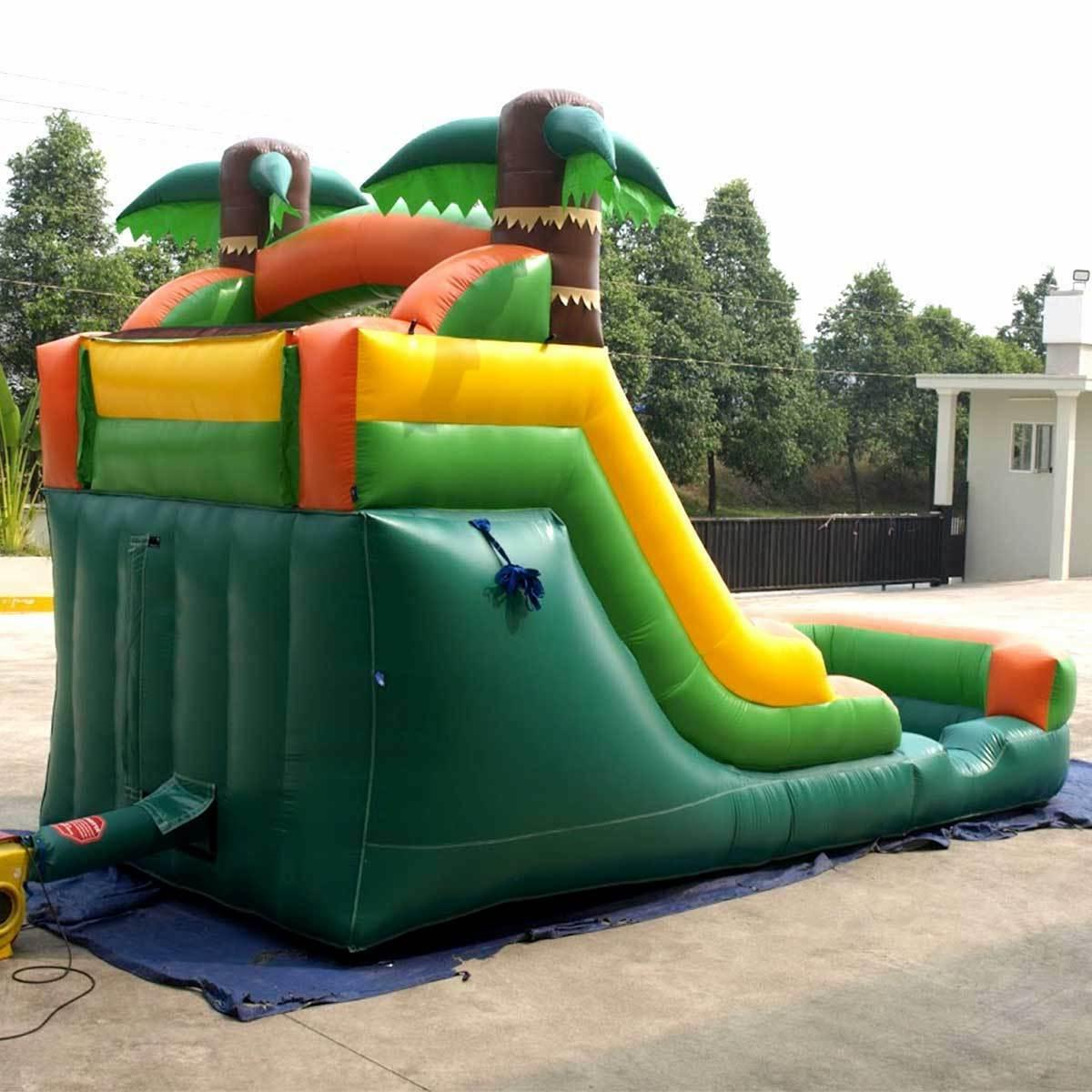 Inflatable Tropical Water Slide Blower