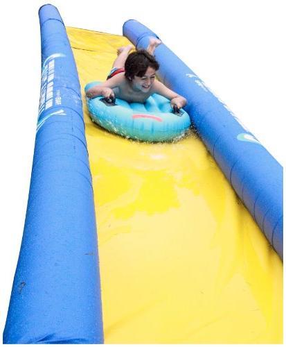 turbo chute water slide backyard