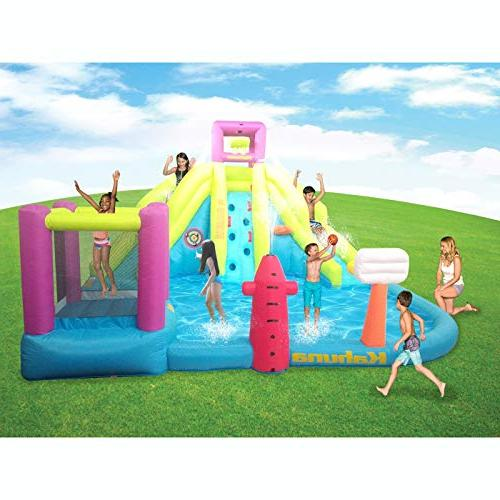 Kahuna Outdoor Inflatable & Slide Water
