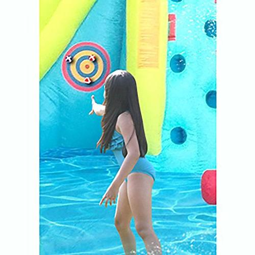 Kahuna Twin Inflatable & Slide Water