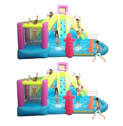 twin peaks inflatable backyard kiddie