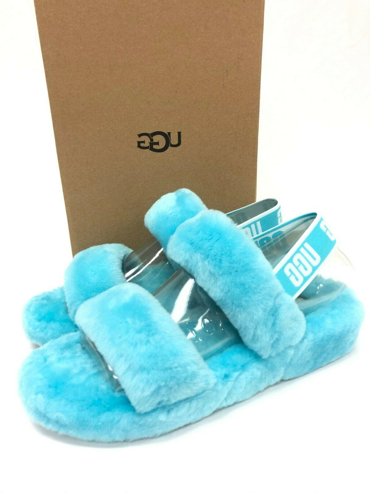 ugg slingback oh yeah slides clear water
