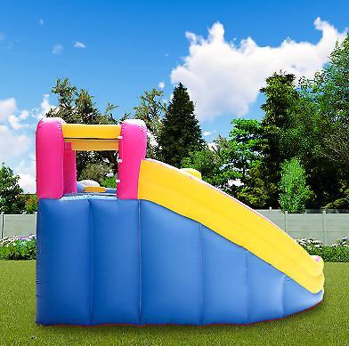 Unicorn Castle Slide Blower kids