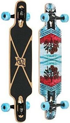 "DB Longboards Vantage 36"" Joshua Tree Maple Longboard Comple"