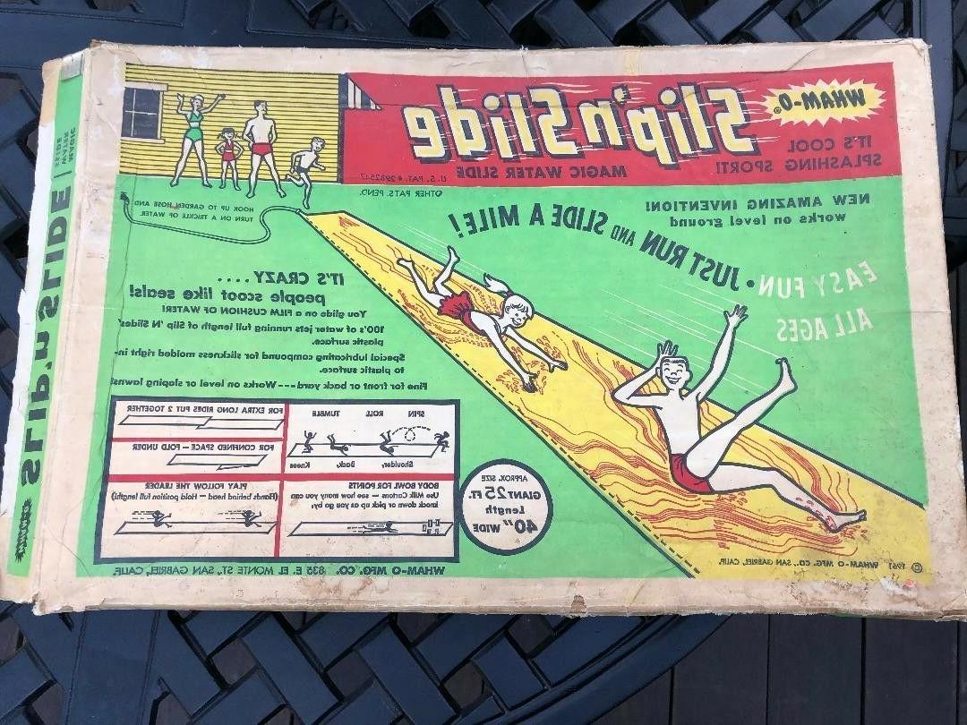 vintage toy collectible wham o slip n