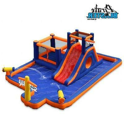 Water Park Inflatable Water Slide Big Pool