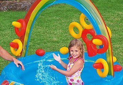 Water Play Set Slide Pool Outdoor Backyard Kid Toys Playset